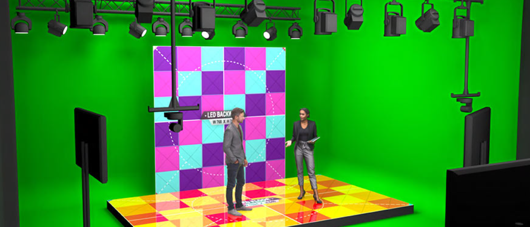 Virtual Event Studio 3 Tekengebied 1